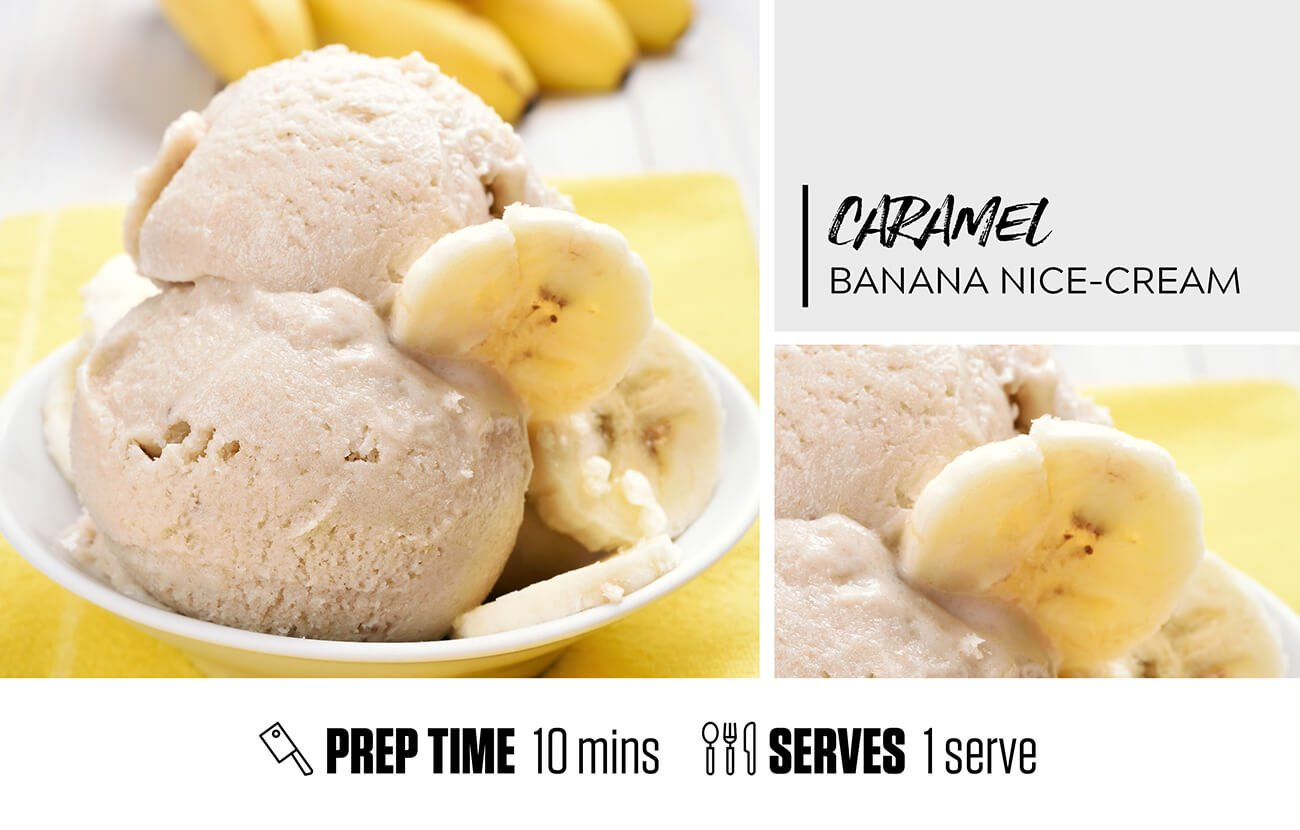 Caramel Banana Nice Cream