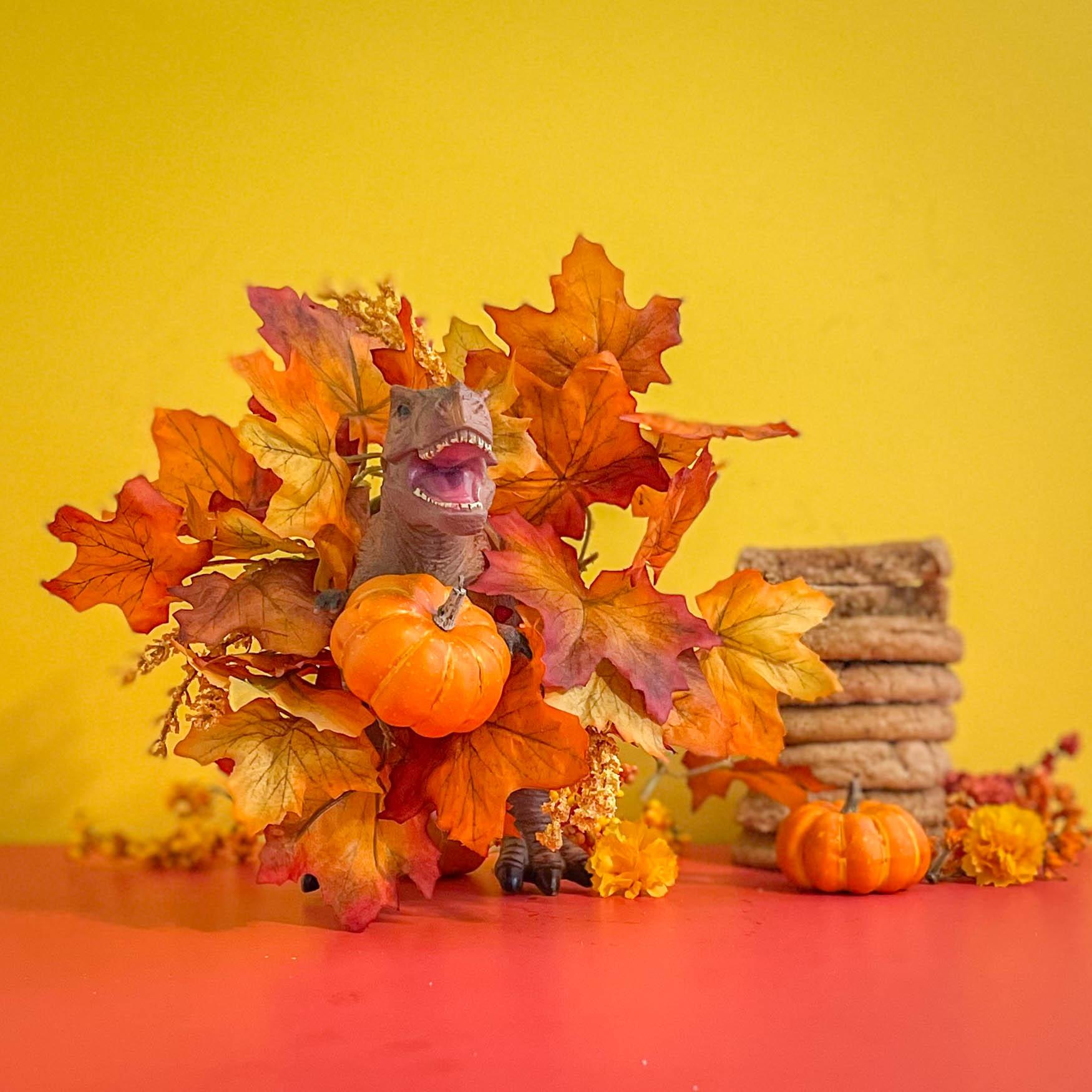 Pumpkin Spice Snickerdoodles close up