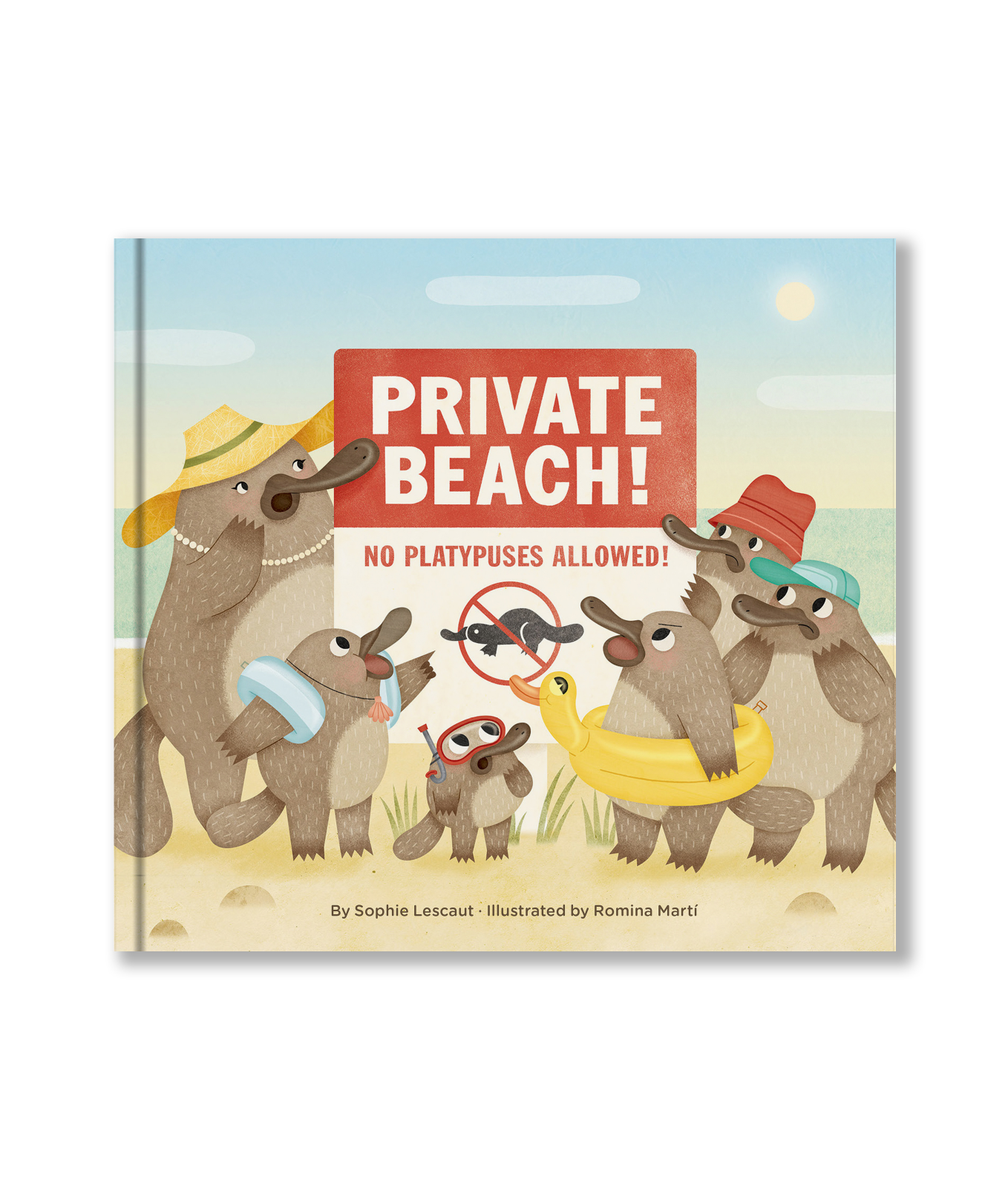 Private Beach: No Platypuses Allowed!
