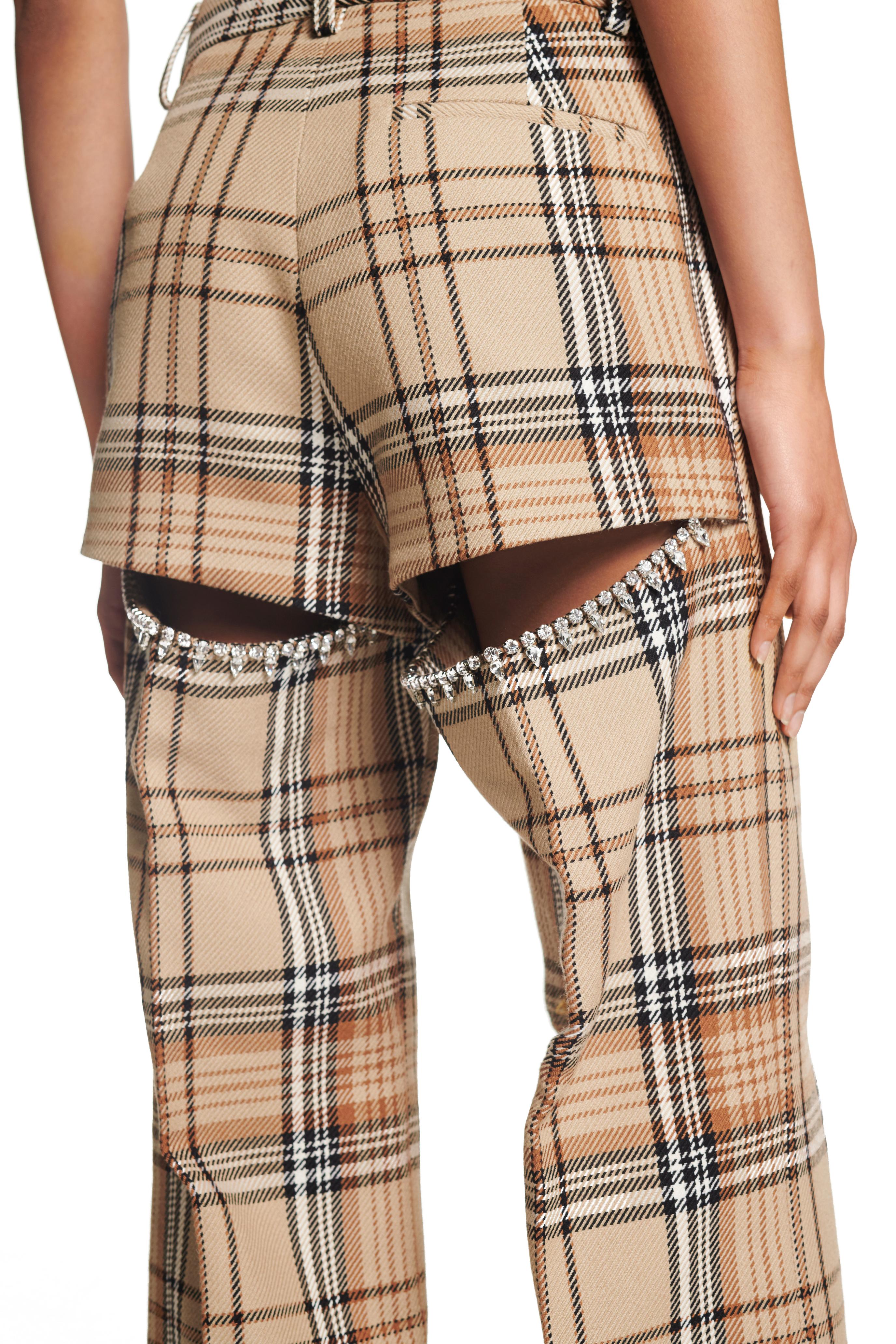 Crystal Slit Trouser