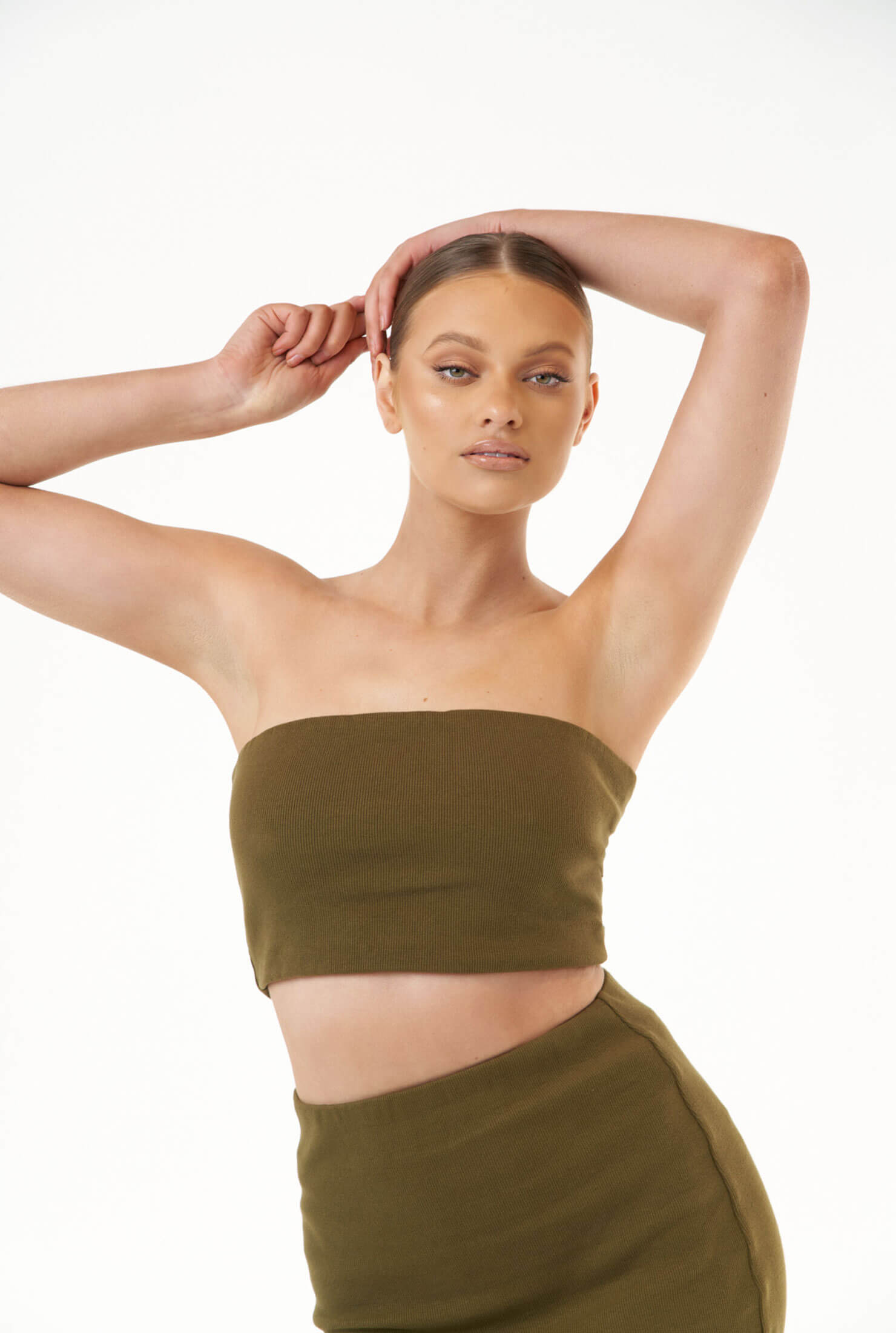 THE MAX OLIVE TUBE TOP