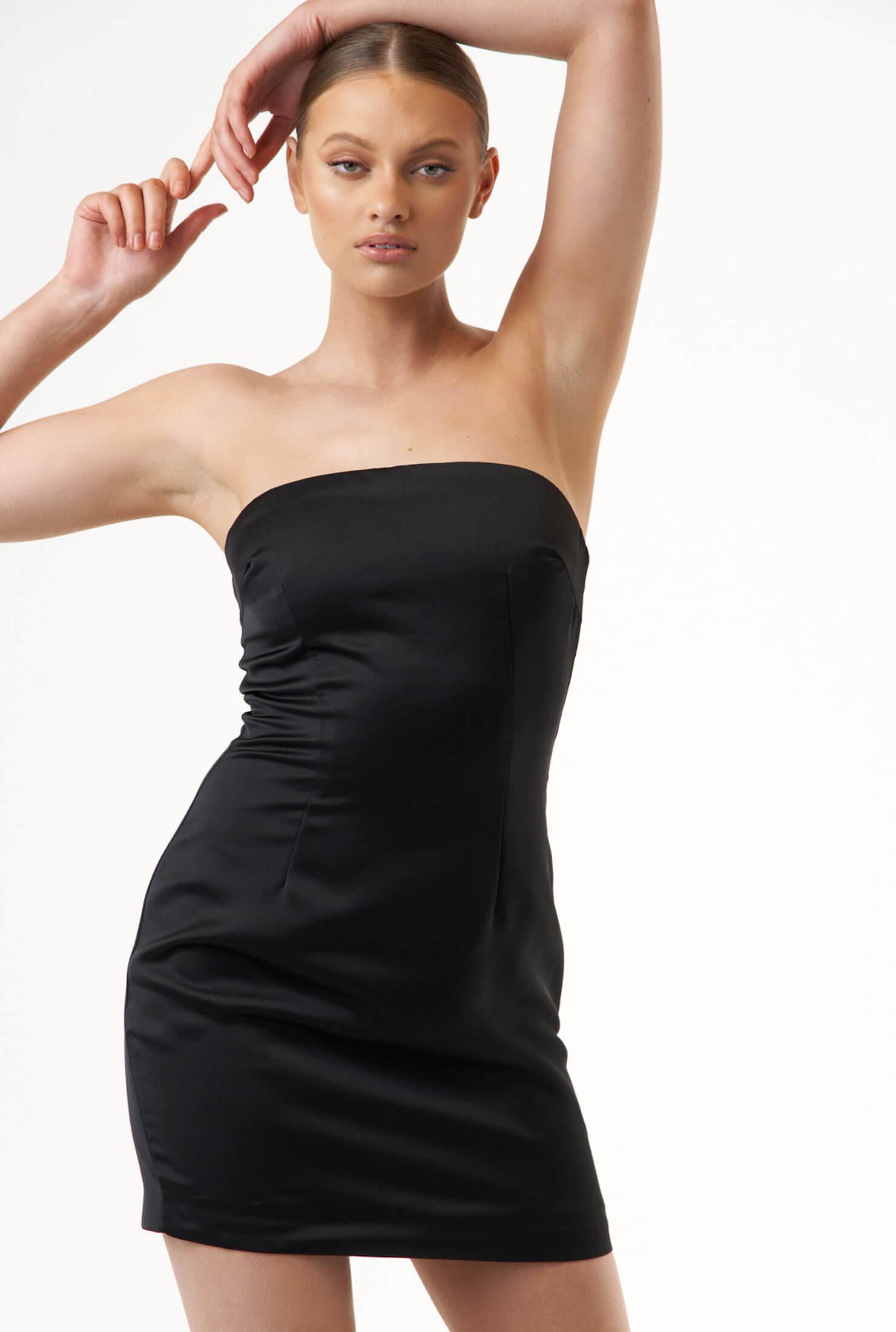 THE ESTHER BLACK DRESS