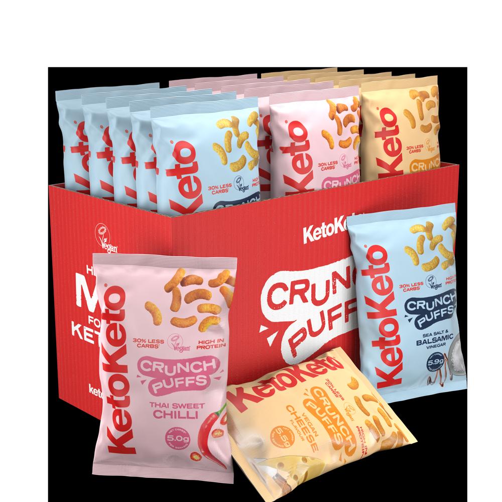 Crunch Puffs Mix Box
