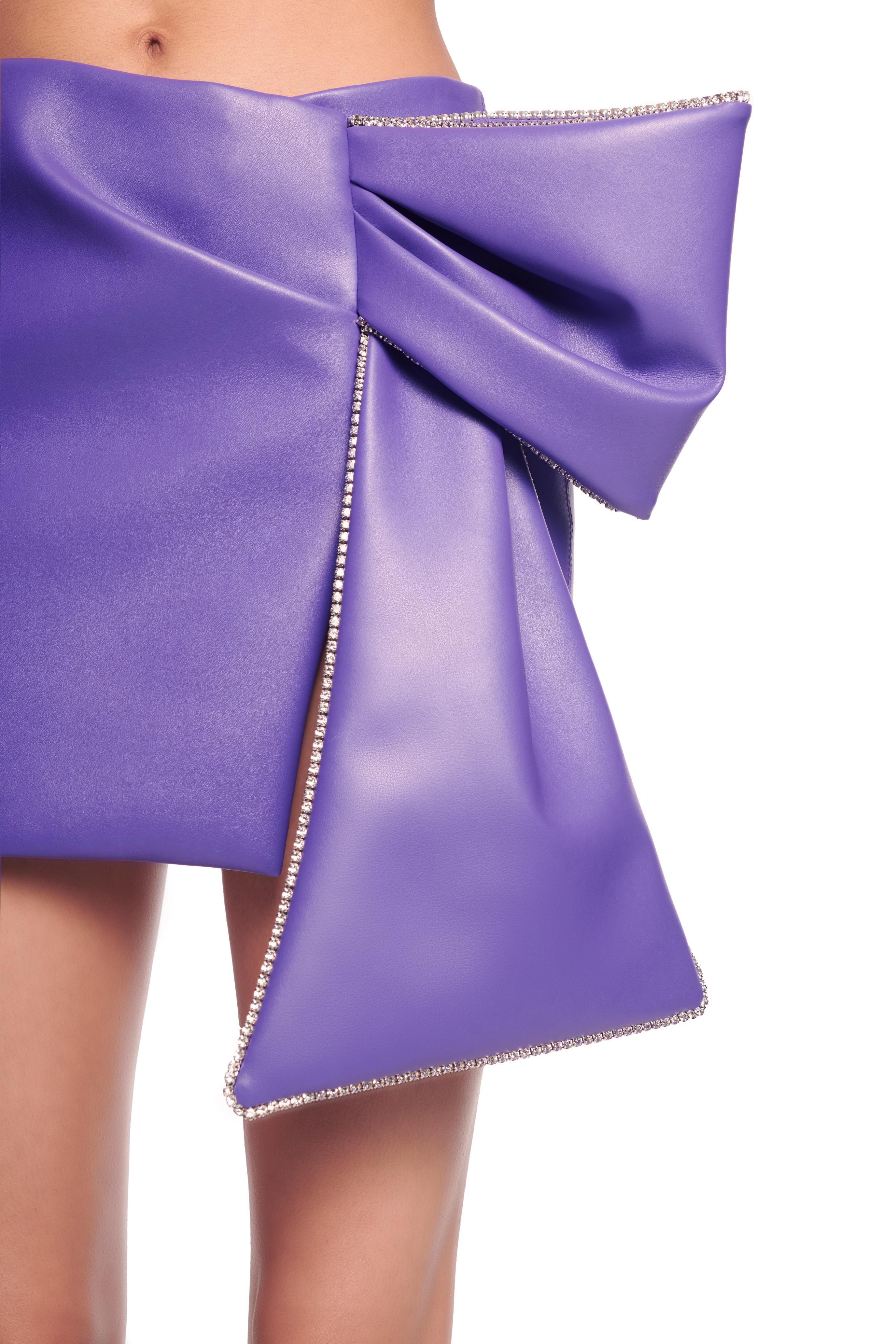 Draped Bow Skirt