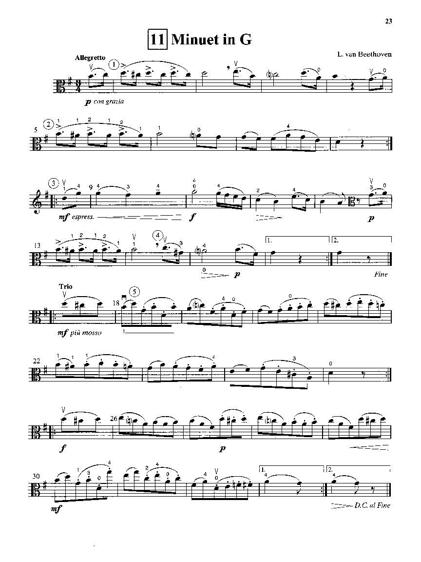 Suzuki Viola School, Volume 2: Viola Part in action