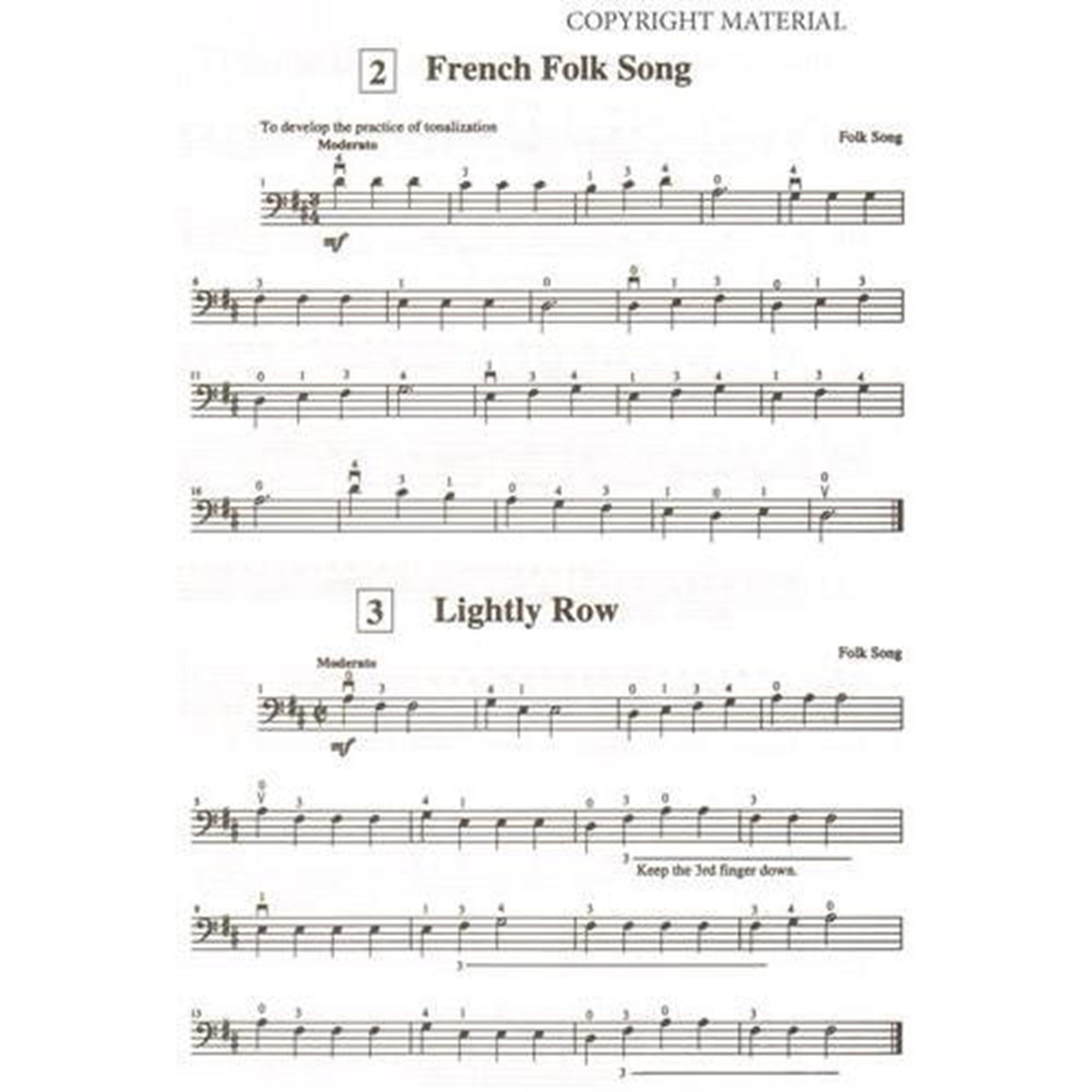 Suzuki Cello School, Volume 1: Cello Part in action