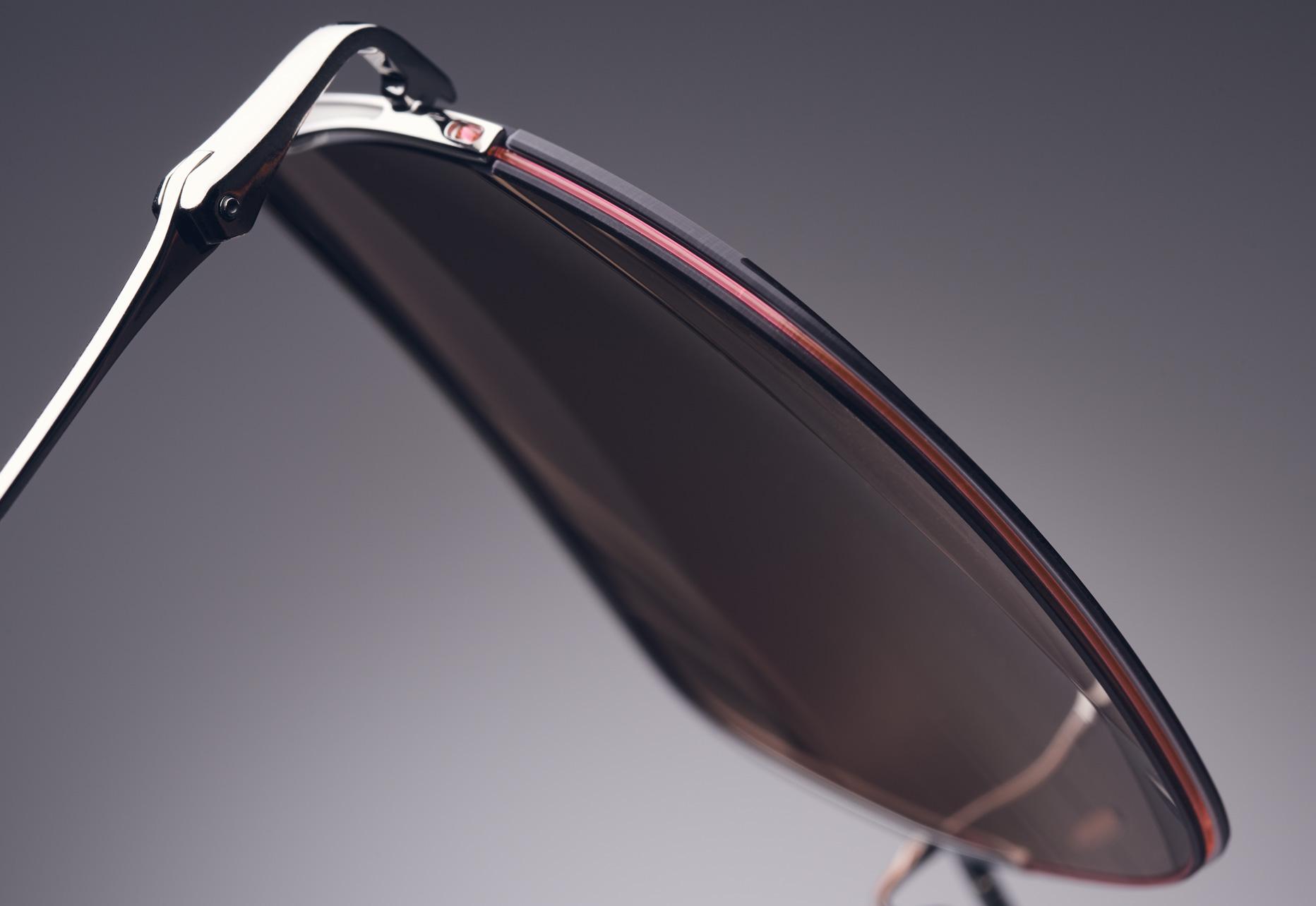 DITA METAMAT ULTRA FLEXIBLE SEMI RIMLESS TITANIUM FRAME DESIGNED FOR ENHANCED COMFORT