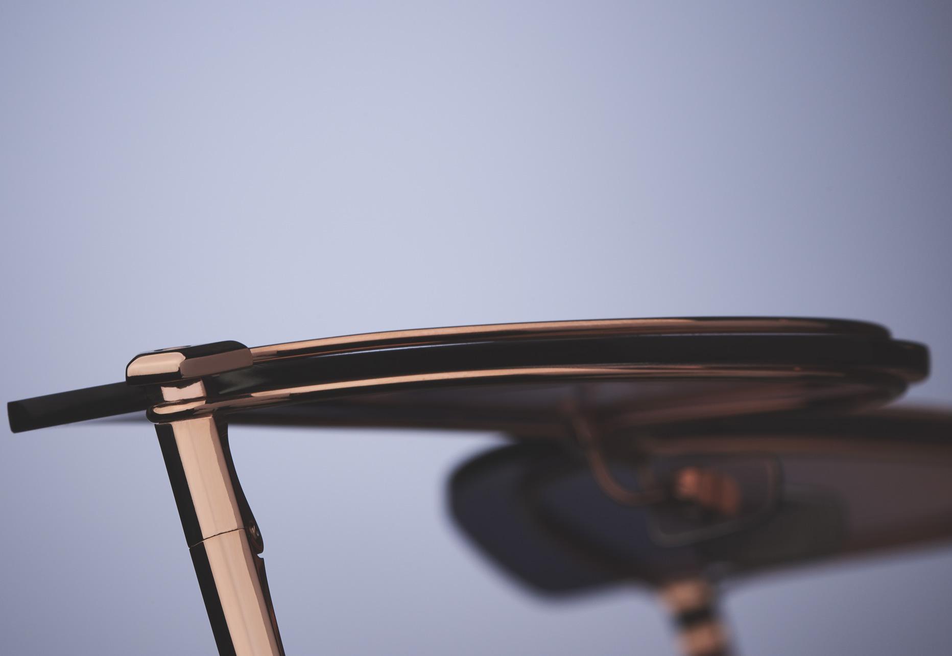 DITA NIGHTBIRD - ONE UNIQUE TITANIUM DOUBLE FRAME CONSTRUCTION TO HOLD LENSES