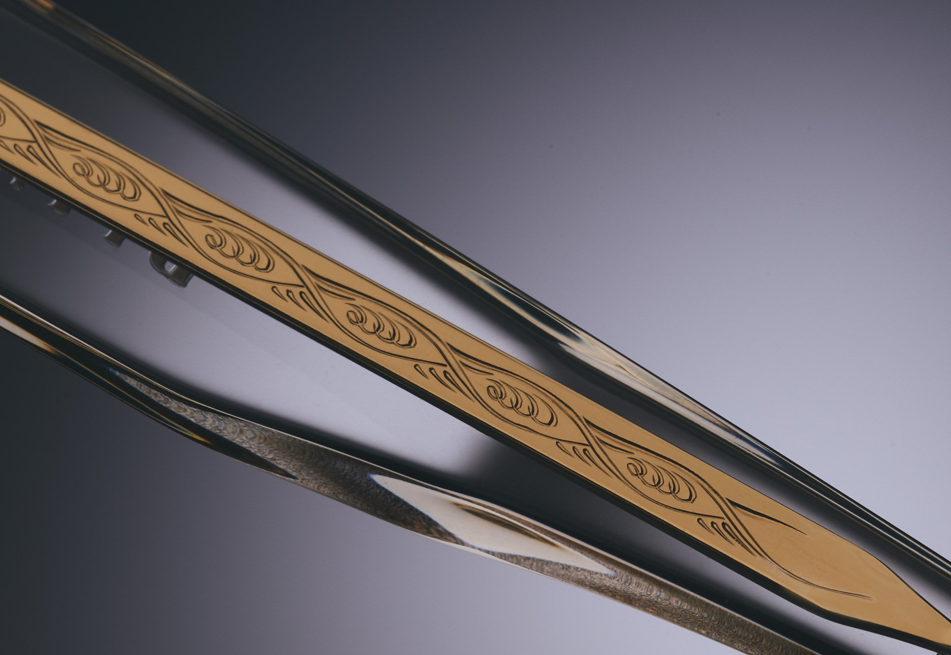 DITA TELEMAKER CUSTOM WIRE CORE WITH INTRICATE PRESSED DETAIL