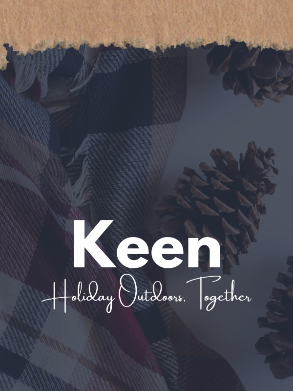 Shop Keen Holiday Outdoors Together