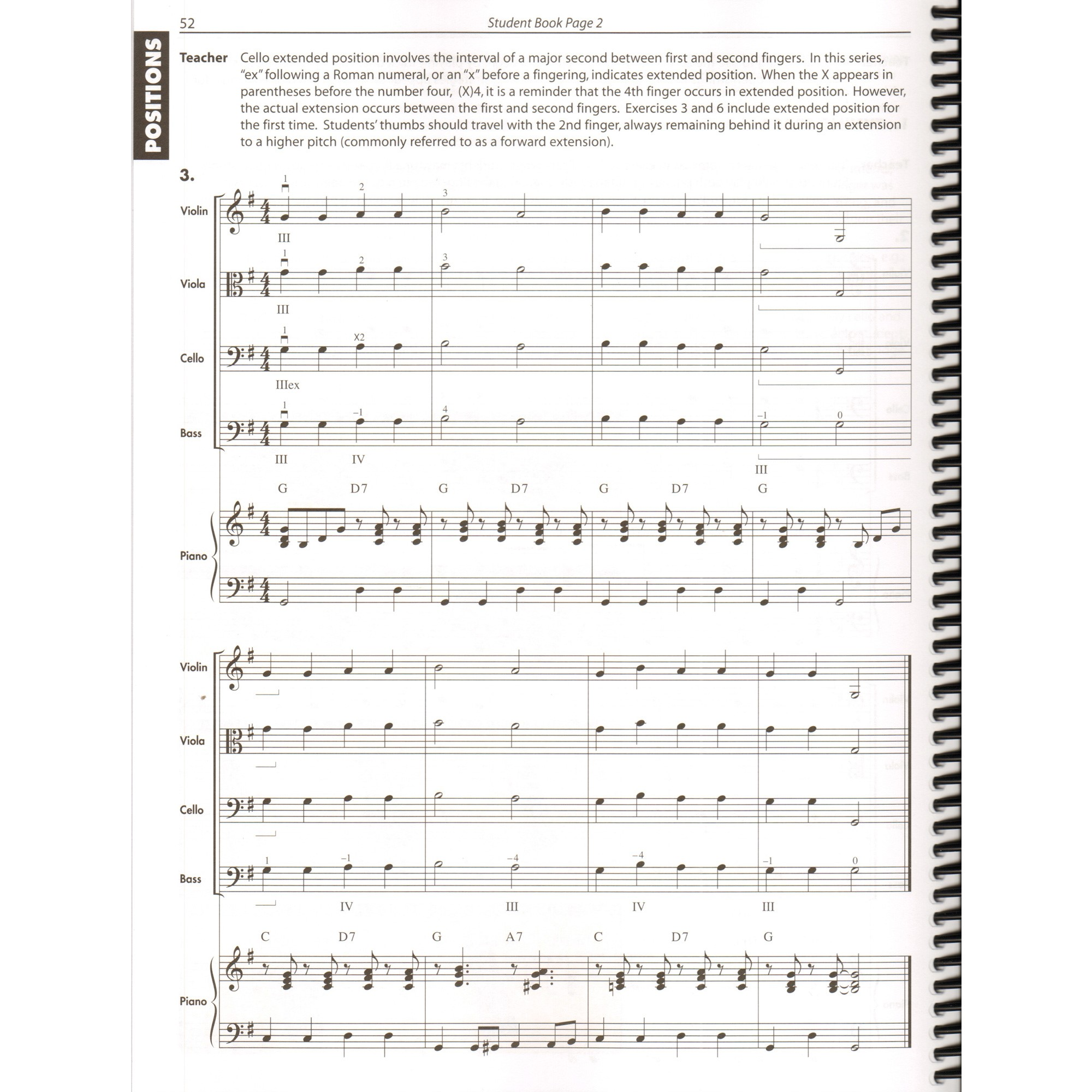 Essential Technique for Strings Cello Book 3 in action