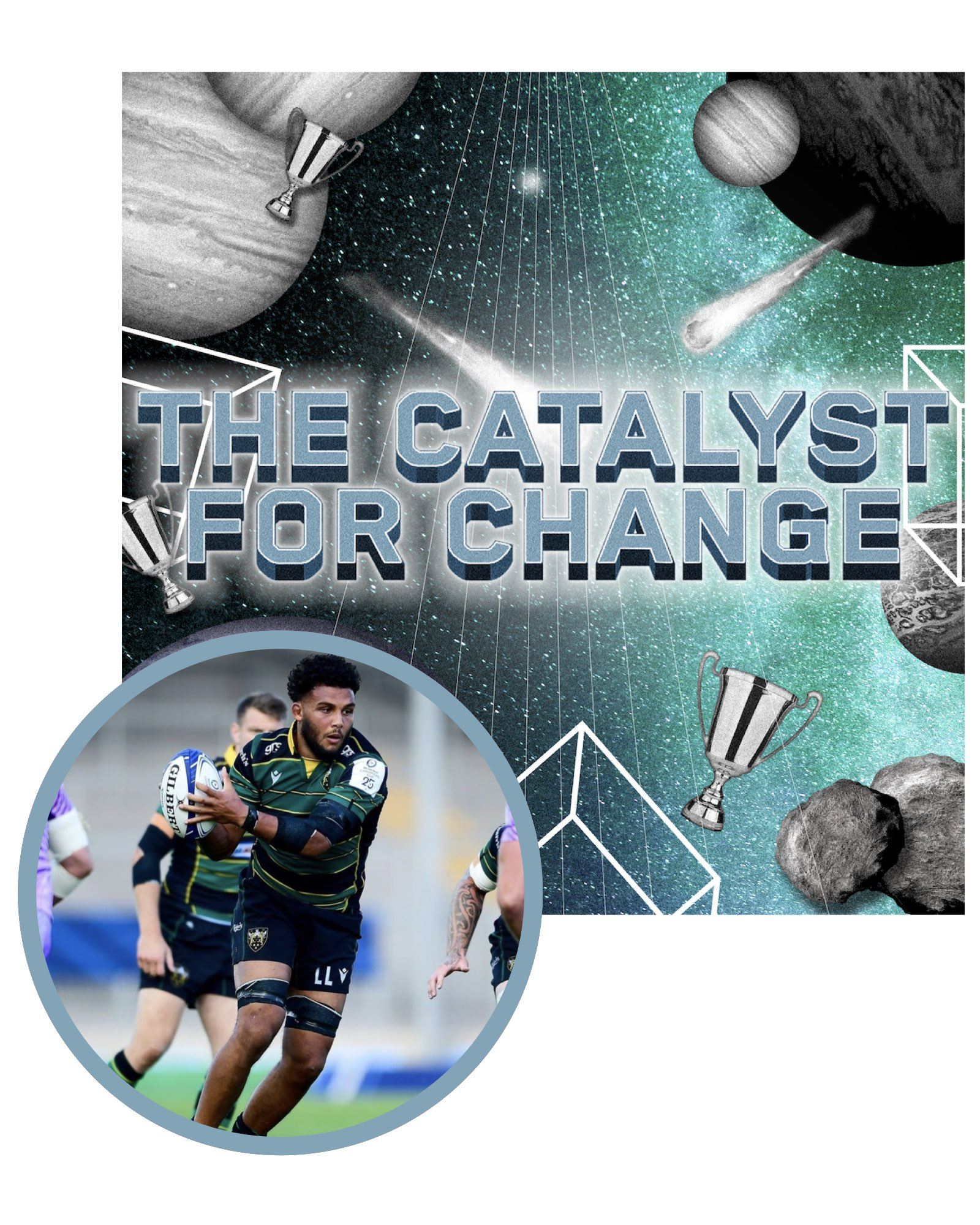 Presented by the Northampton Saints
