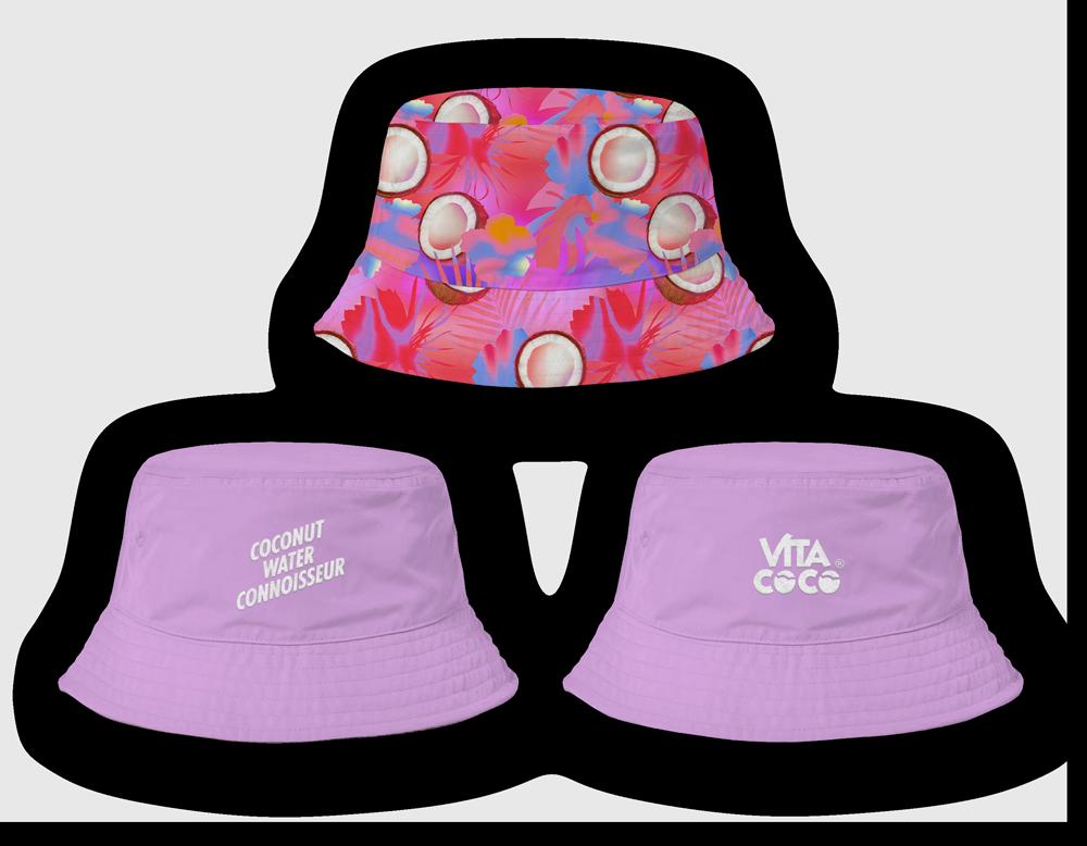 Bretman Rock + Vita Coco Reversible Bucket Hat