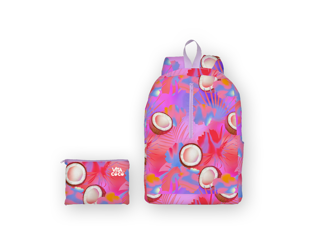 Bretman Rock + Vita Coco Packable Backpack