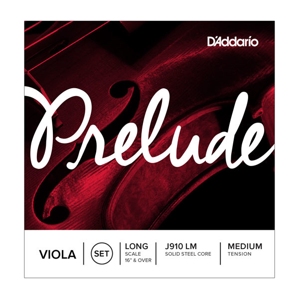 D'Addario Prelude Viola String Set in action