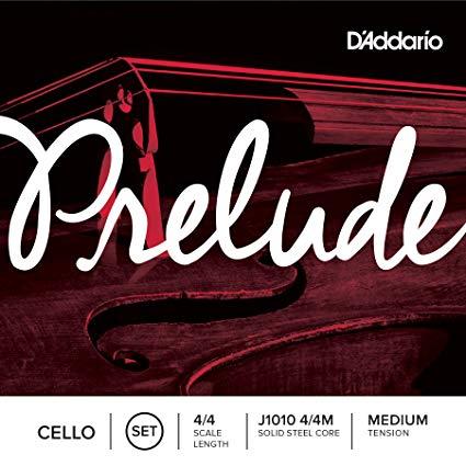 D'Addario Prelude Cello String Set in action
