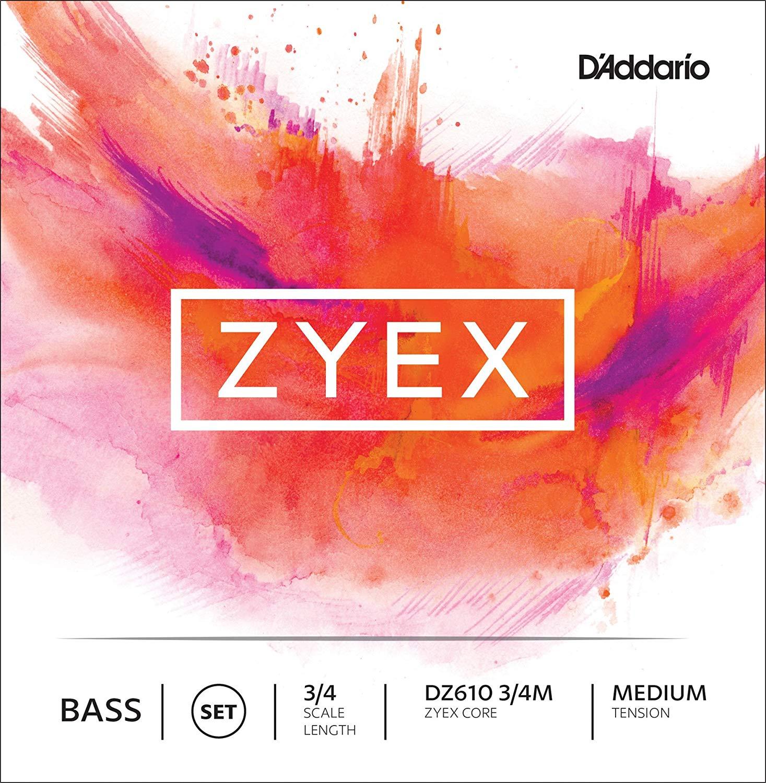 D'Addario Zyex Bass String Set in action