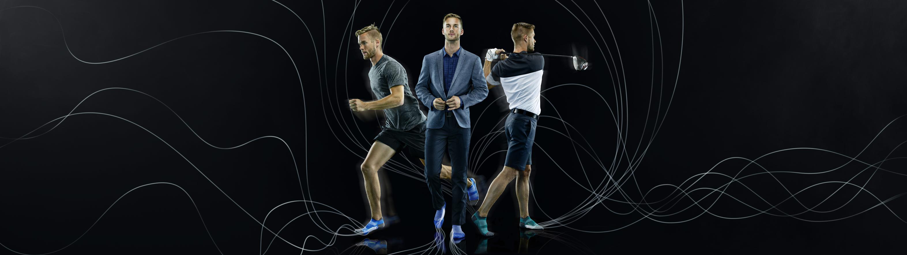 Men's PF Relief Running Socks