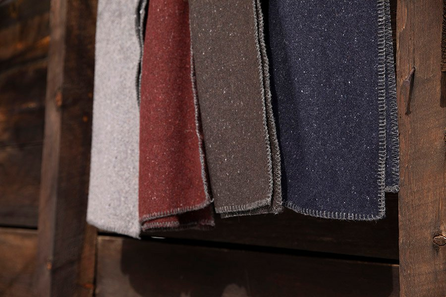 image of Pure & Simple Utility Wool Blanket
