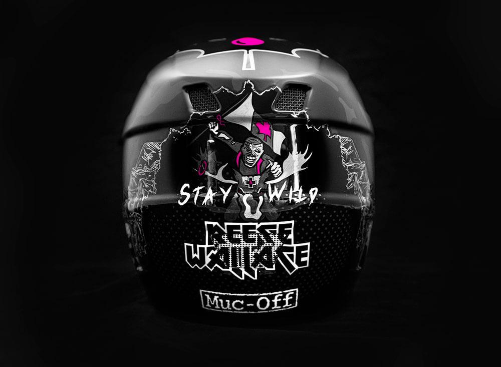 Reece Wallace - Custom Helmet Image 5