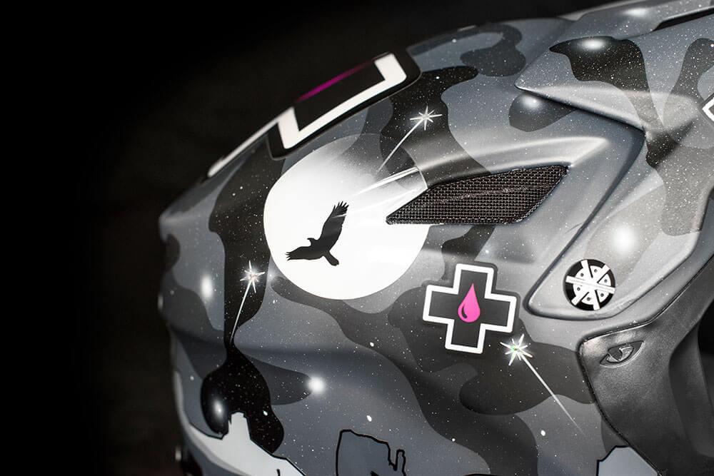 Reed Boggs - Custom Helmet Image 2