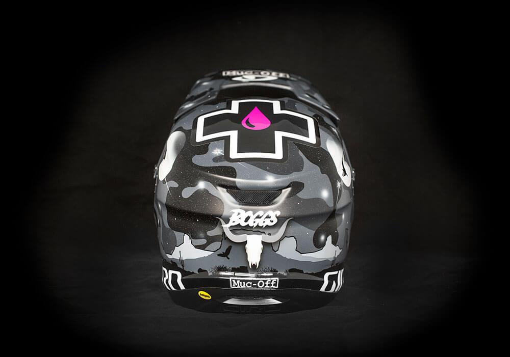 Reed Boggs - Custom Helmet Image 6