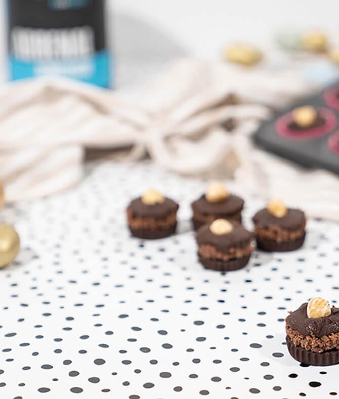 RECIPE - CHOCOLATE HAZELNUT CUPS