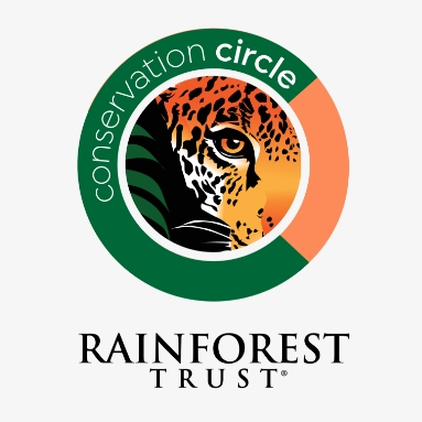 Our partnership with Rainforest Trust.