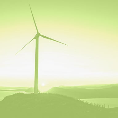 We're moving to renewable wind energy