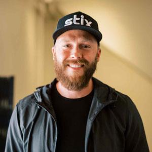 Photo of Stix team member Collin Duff
