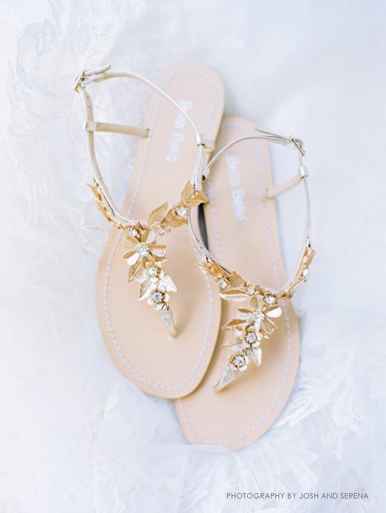 308ef485fdf Agatha Greecian Gold Boho Chic Wedding Sandals
