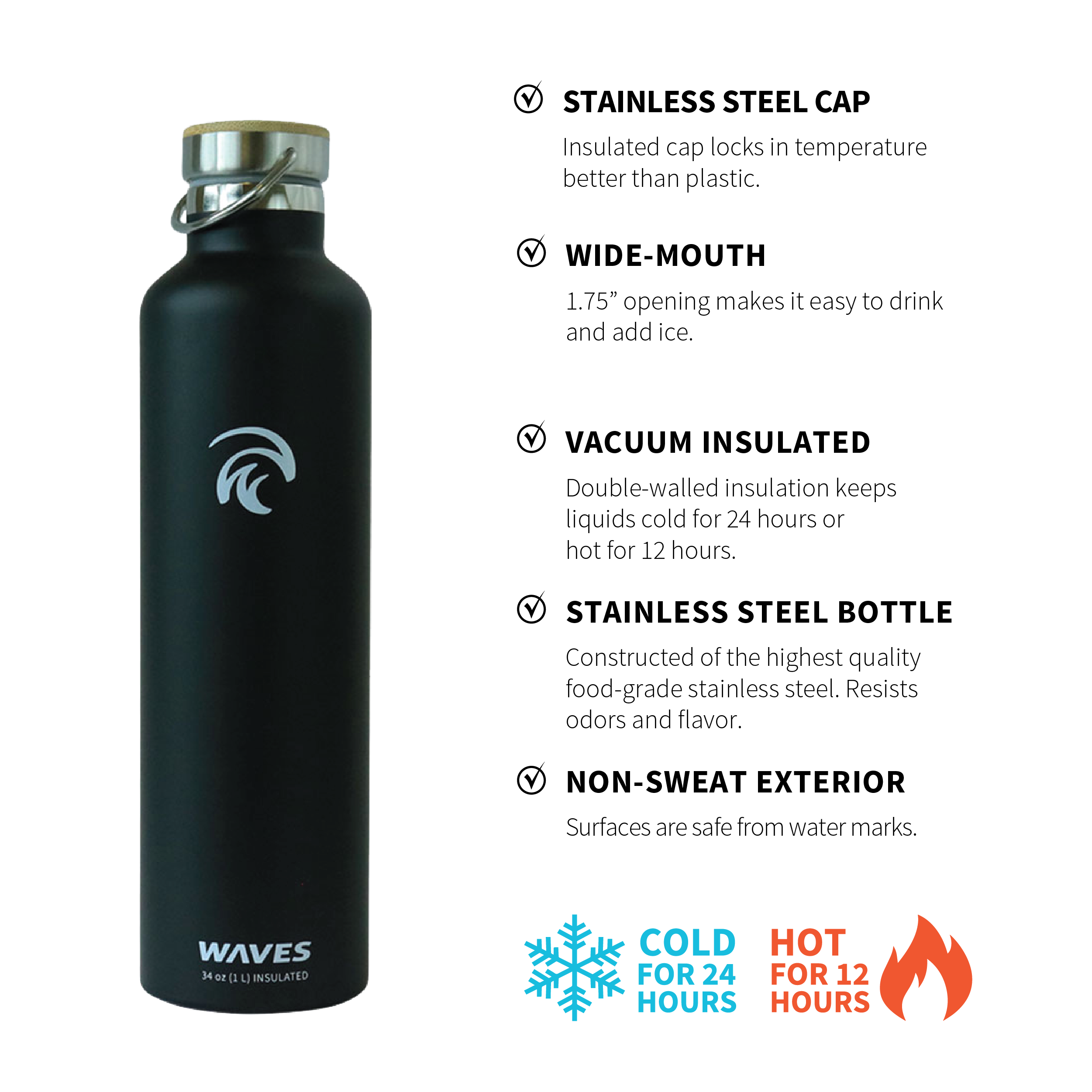 BOGO on Forever Cold water bottles and Floating Sunglasses