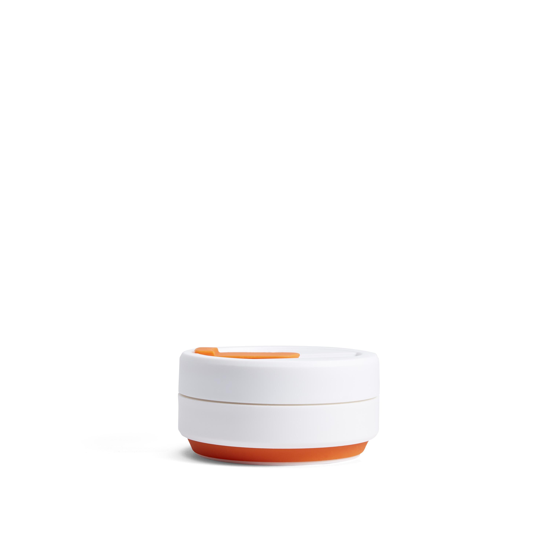 stojo pocket cup - classic collection (orange)