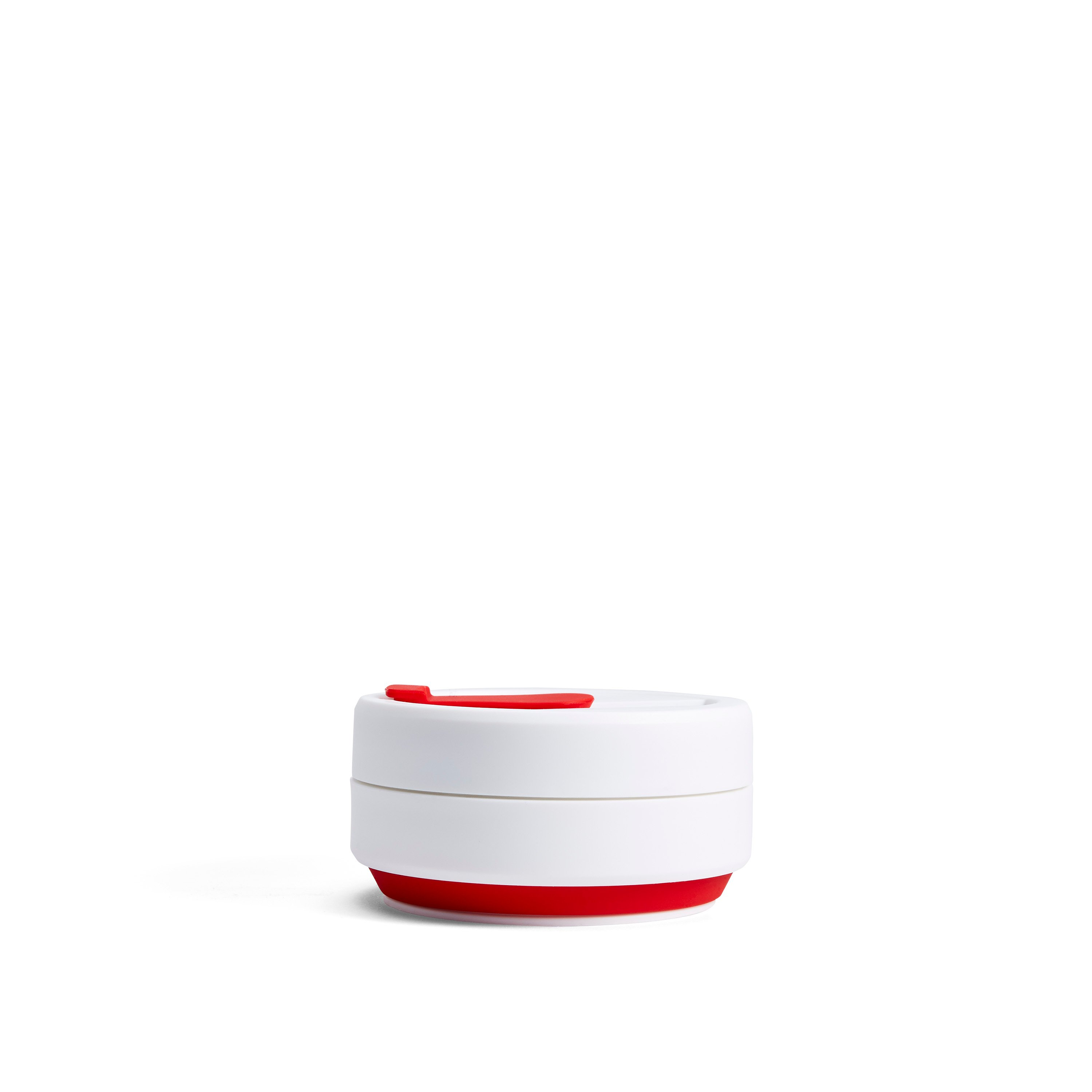 stojo pocket cup - classic collection (red)