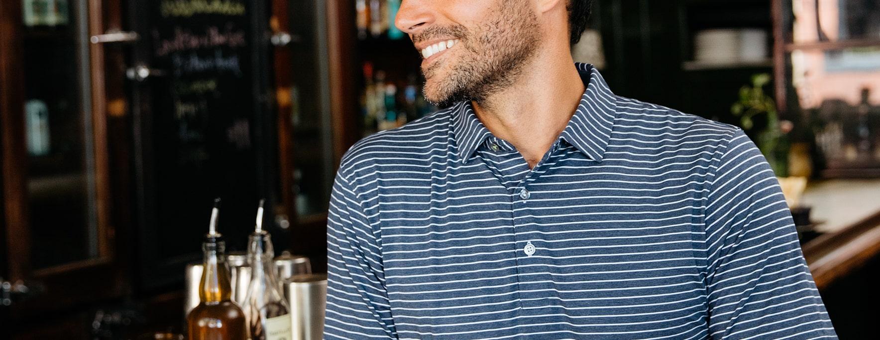 Men's Polo Shirts - tasc Performance
