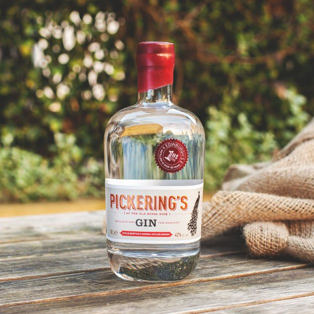 More About Pickering's Gin