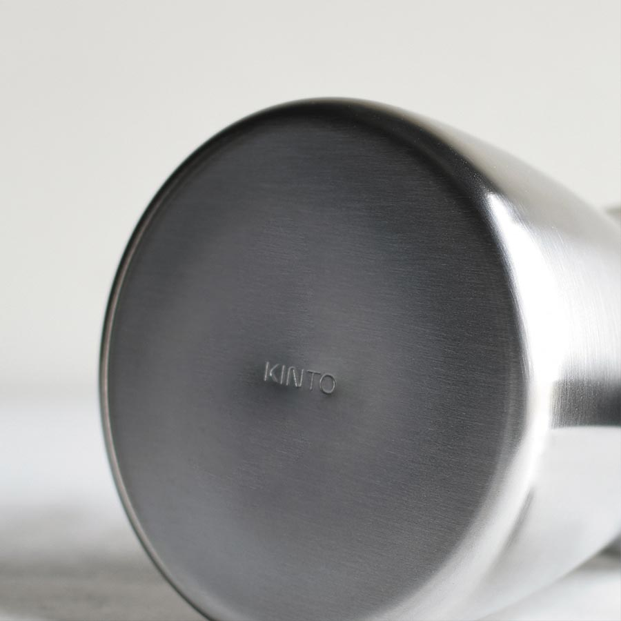 Bottom KINTO logo of POUR OVER KETTLE