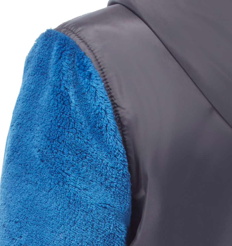 Free Country Boys' Terrain Venture Pile Fleece Jacket - Nordic Blue - S