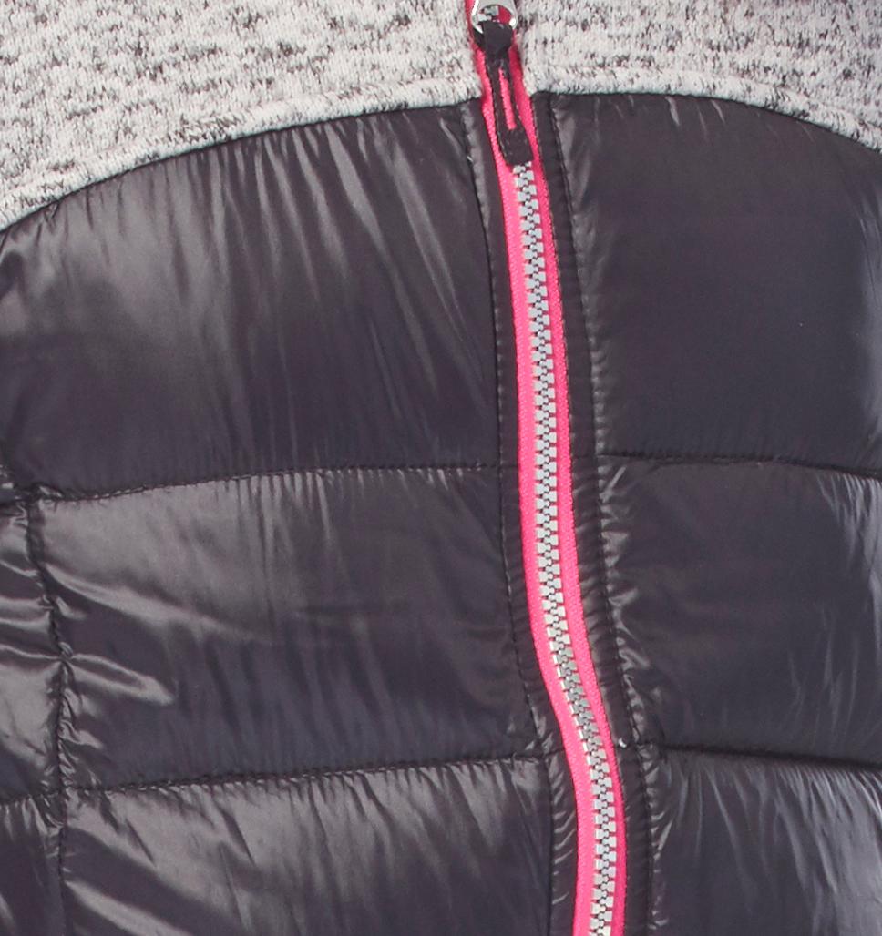 Girls' Proactive Down Hybrid Fleece Jacket