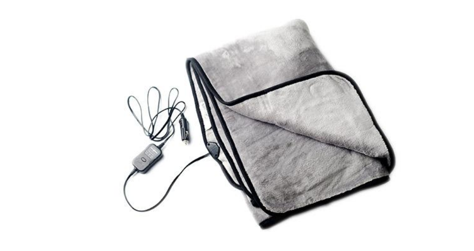 12V Heated Travel Throw