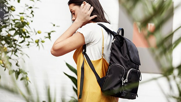 "KNOMO Clifford Laptop Backpack - 13"" Lifestyle Image 