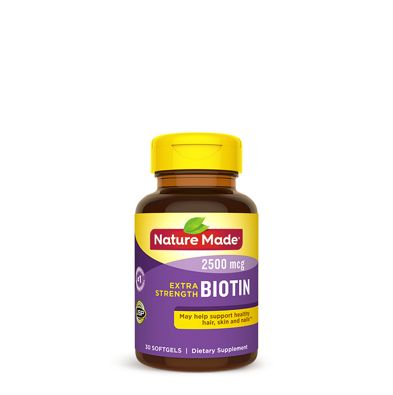 Extra Strength Biotin Softgels