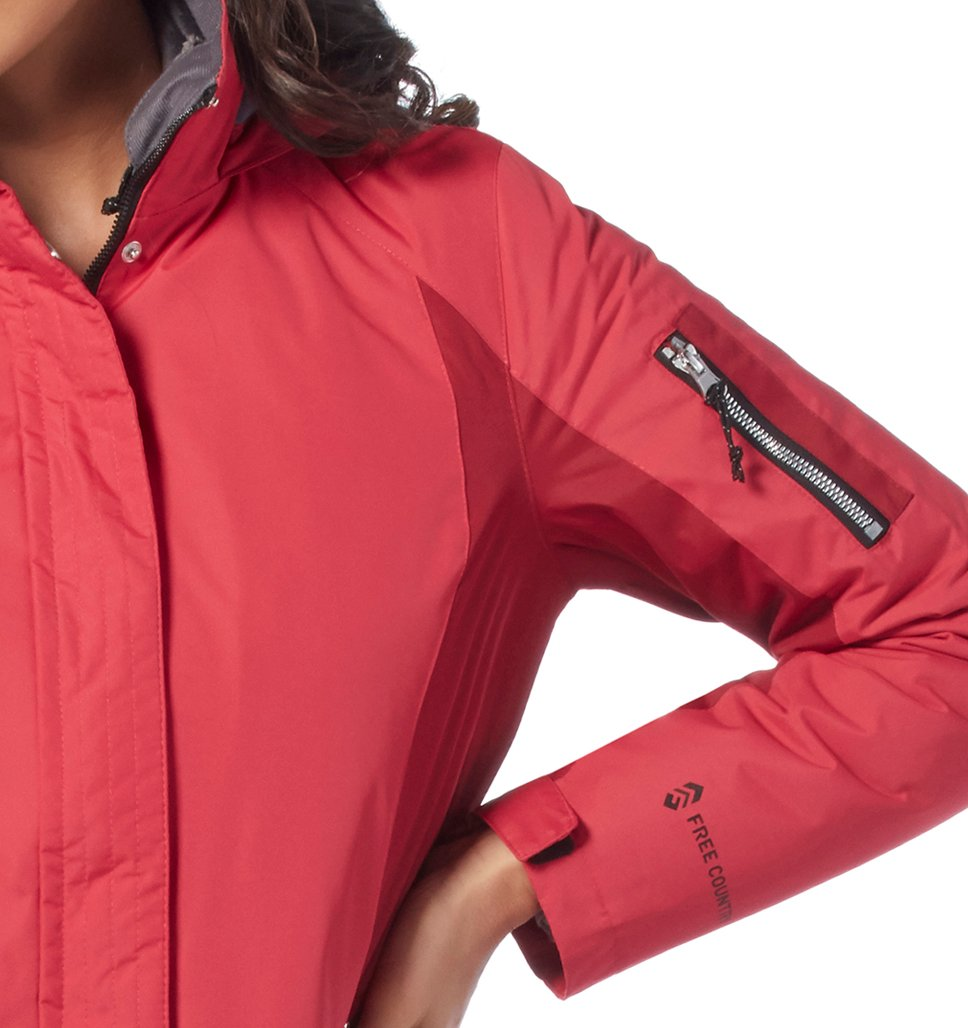 Free Country Women's Petite Innovator 3-in-1 Systems Jacket - Spearmint