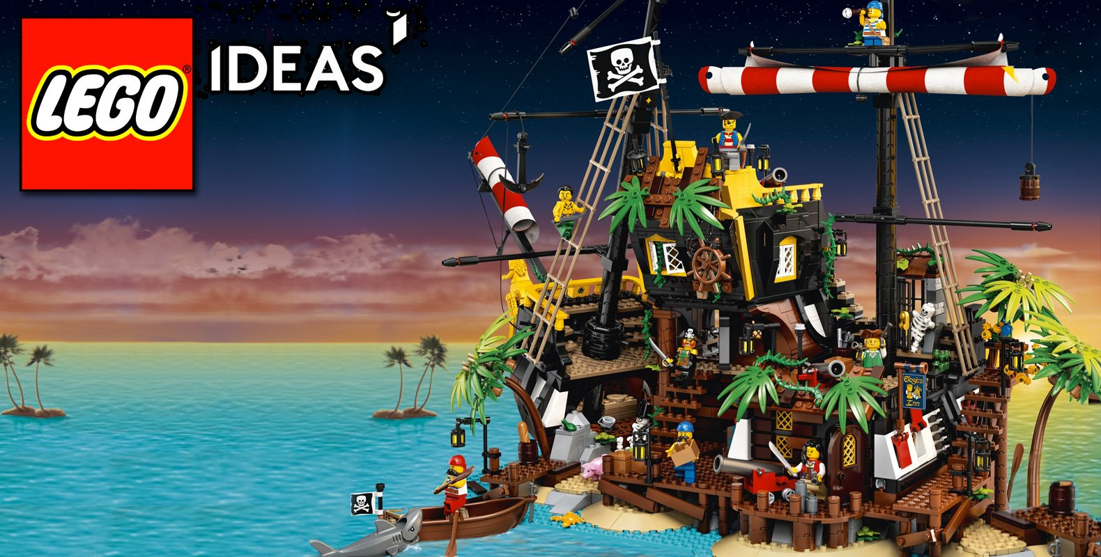 Lego ideas pirates of barracuda bay 07.15.20