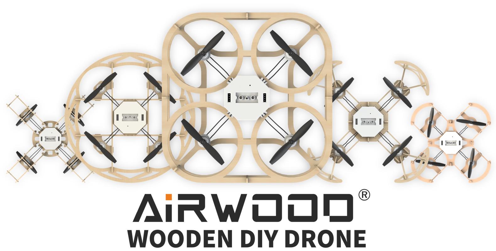 Airwood Wooden DIY Drones