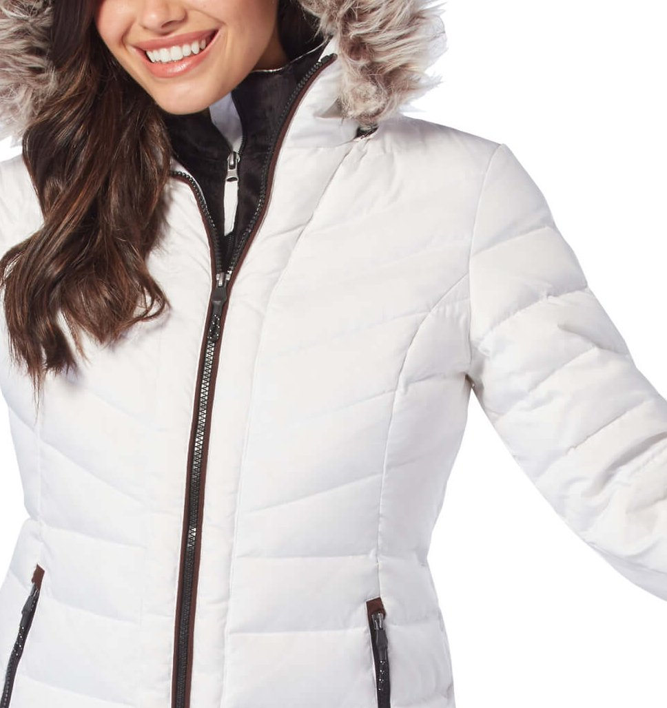 Free Country Women's Conquer Cloud Lite Down Jacket - White - S