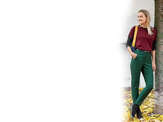 Fabriksnye Smarte bukser til damer – Se sæsonens damebukser nyheder hos Like ANNA WS-88